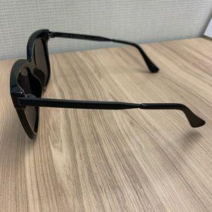 Diff Eyewear Accessories - Bella Black Polarized Oversized Sunglasses